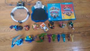 Skylanders Trapteam and SuperChargers for Wii u prime condition