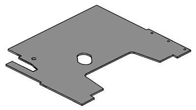 Amac6080fm Floor Mat For Allis Chalmers 6060 6070 6080 Tractors