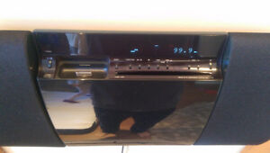 Sony wall mountable stereo system