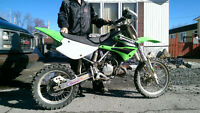 KAWASAKI KX85 **1, 500.00$** GOOD CONDITION ++ PARTS