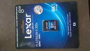 Lexar 8GB SD card