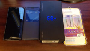 Like New in Box Unlocked Samsung Galaxy S8+ --Unused Stuff+More