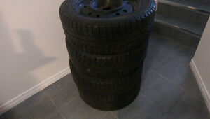 Mazda 3 Snow rims and tires 205/55/16. Kitchener / Waterloo Kitchener Area image 6