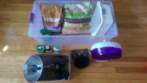 Hedgehog accessories/accessoires pour herisson