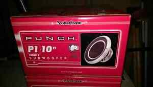 Rockford Fosgate dual 10'' subwoofer box