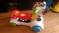 Vtech - 3 in 1 Learning Zebra Scooter in excellent condition