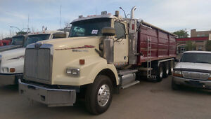 2007 WESTERN STAR TRI DRIVE GRAIN TRUCK - REDUCED!!