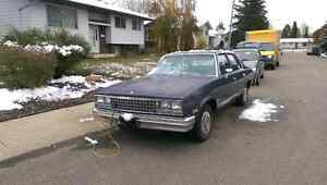 1983 Chevy Malibu, original low kms on it!!
