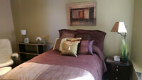 TASTEFUL FURNISHED BEDROOM IN LINDENWOODS
