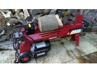 7 Ton Electric Log Splitter - With Free Stand