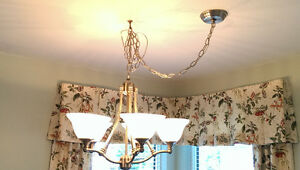 2 Chandeliers/Dining Room lights