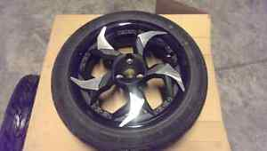 Can - am Spyder Blade Mag Wheels and Tires