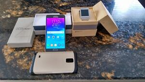 Samsung note 4 plus samsung gear watch for sale Cambridge Kitchener Area image 1