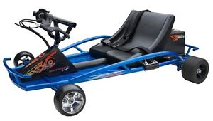 Racing Go Kart - Electric Rechargeable Drifter Go Cart w/ Trigge