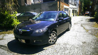 Mazda 3 GX Berline de 2007 - 217649Km - As is - 1850$