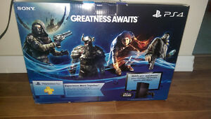 Brand new playstation with game...