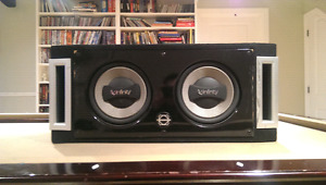 Infinty Subs with free Mtx Thunder Amp