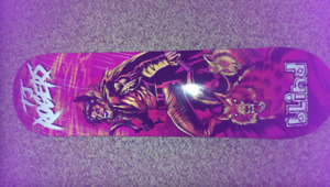 Brand new *Gripped Blind TJ Rogers wolf deck