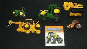 Tractor and Farm Machinery books and Toy Vehicles