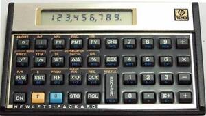 HP Hewlett-Packard 12c Financial Calculator Brisbane City Brisbane North West Preview