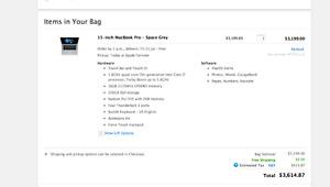 ***BNIB Sealed Latest MacBook Pro 15 2.8Ghz i7 256gb 16gb RAM***