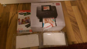 Canon SELPHY CP900 Wireless Color Photo Printer: Ink+Sheets
