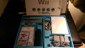Wii. System and games for sale. $100