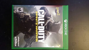 Call of duty infinite warfare Xbox one (swap possible)