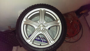 245/40R18 Winter Package 5x100 / 114.3