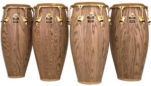 LP Giovanni Series Congas complete with travel cases