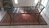 ~Cast Iron Bench made by Walsh Mountain Ironworks in Port Hope~