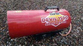 Devil 1500 Propane Heater