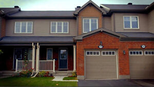 Fairwinds Stittsville 3 yr. old 3 bdrm, 2.5 bthrm  September 1st