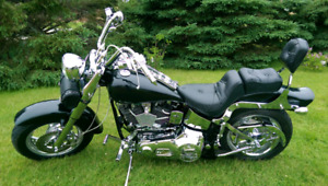 $8500 THIS WEEKEND 92 HARLEY SOFTAIL STROKED 1340 EVO