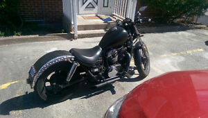 Reliable Custom Honda Shadow For Sale. Great First Bike