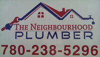 3rd or 4th year residential plumber needed for Renos and BD's