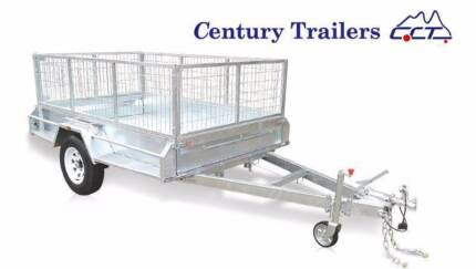 Century Trailers 8x5 Premium HD Trailer With 600mm Cage ATM1400kg