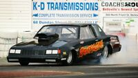 super pro buick regal drag race car