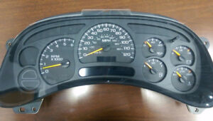 INSTRUMENT CLUSTER  /  Gmc or Chevrolet
