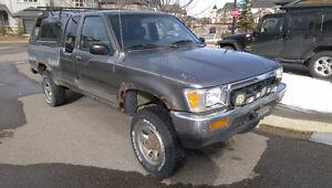 1989 Toyota Tacoma/Hilux/Half Ton Pickup Truck V6