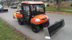Like New RTV with Plow and Snowblower