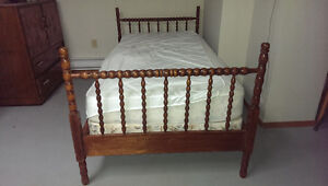 Antique Jenny Lind Spool Bed- Twin/Single