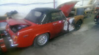 1971 MG Midget - $699.00 - PART-OUT or SOLD W/O OWNERSHIP