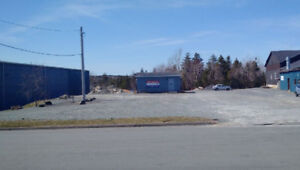 1 ACRE YARD & 375 SQ.FT. OFFICE