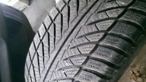 245/55  R17   RUN FLAT GOOD YEAR