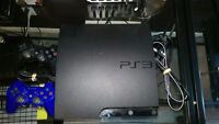Sony Playstation 3 Slim 160 GB + ALOT OF GAMES