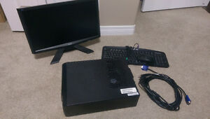 """**LOWER PRICE**eMachines desktop computer setup with 18"""" monitor"""