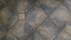 "Floor Tile - Grey 13"" Tile discontinued"