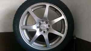 Fast Rims 215/45/R17 MUST GO--any reasonable offer!!!