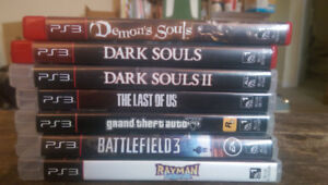 PS3 games for sale. 4 for $60 or, 7 for $70
